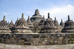 Saturday Mar 25. Buddhist Temple complex of Borobudur