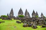 Sunday Mar 26th. On the way to Surakarta. We visit Prambanan, the largest Hindu temple complex in Java.